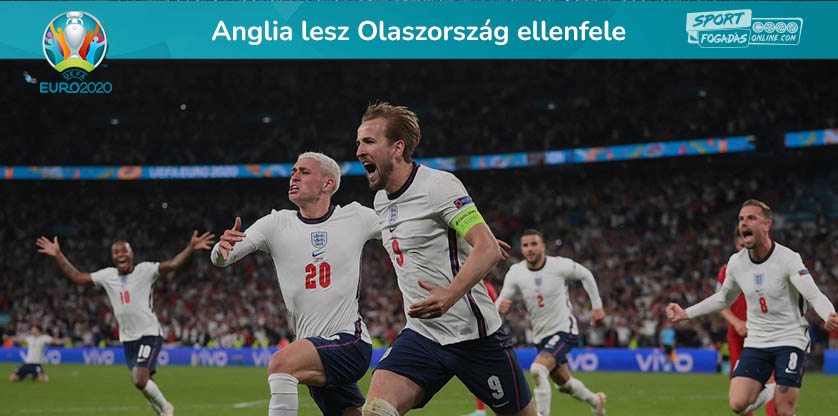 Anglia lesz Olaszország ellenfele a döntőben