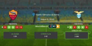 Foci Tippek: AS Roma - Lazio 2021. május 15. - Serie A
