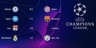 Bajnokok Ligája nyolcaddöntőinek - 2020 (II. rész)