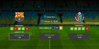 Foci Tippek: Barcelona vs Getafe 2020. február 15. - La Liga