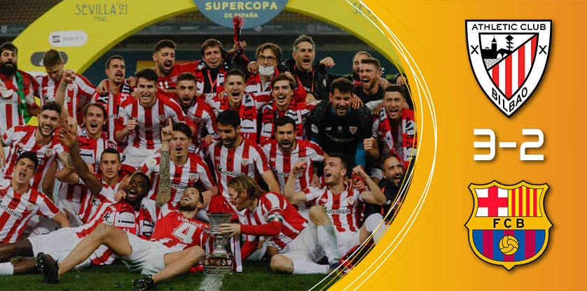 Bilbao wins the spanish supercup