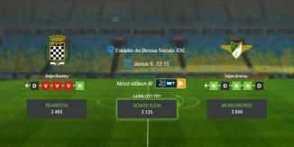 Foci Tippek: Boavista - Moreirense 2020. június 6. - Primeira Liga