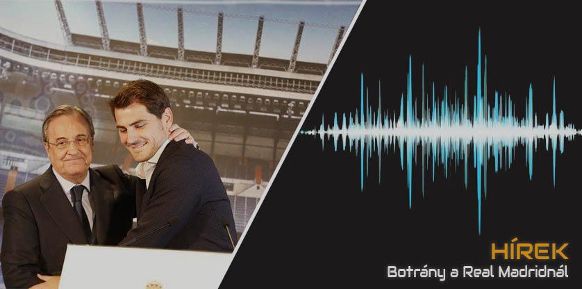 Titkos hangfelvételek a Real Madrid elnökétől