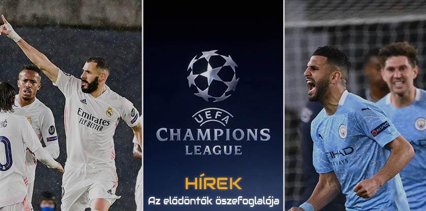 Champions League - Semi Finals - First Part