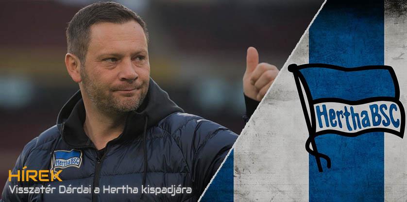 Dardai is the head coach at Hertha again