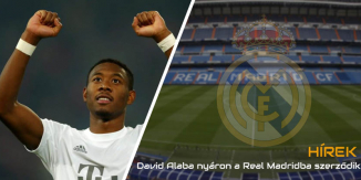 Alaba signs to Real Madrid for free
