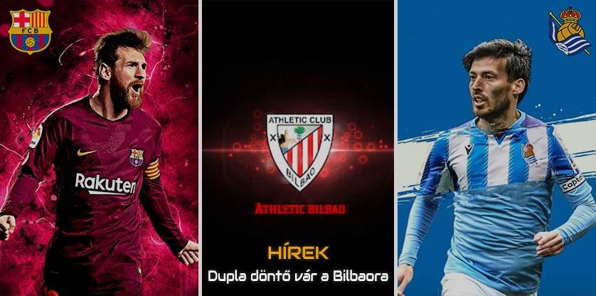 Double Copa del Rey Final for Athletic Bilbao
