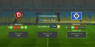 Foci Tippek: Dresden - Hamburg 2020. június 12. - Bundesliga 2