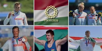 Éremeső az Olimpia mai napján
