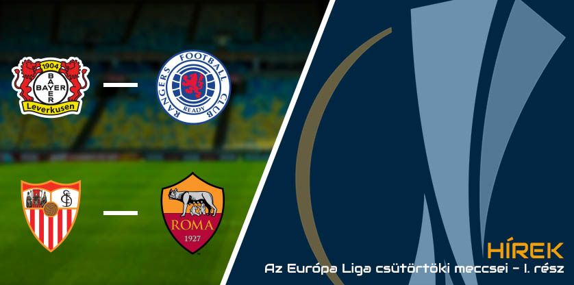 Az Európa Liga csütörtöki meccsei 2020.08. - I. rész