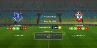 Foci Tippek: Everton - Southampton 2020. július 9. - Premier League