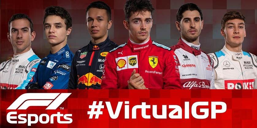 F1: Újabb virtuális futamok a képernyőkön 2020.05.