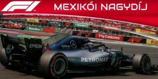 Hamilton nyeri a Mexikói Nagydíjat 2019