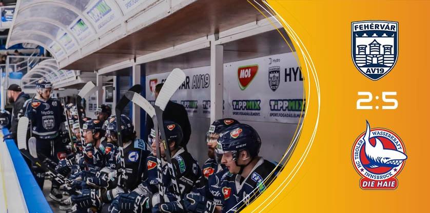 Fehérvár AV19 - Innsbruck: EBEL 2020 február