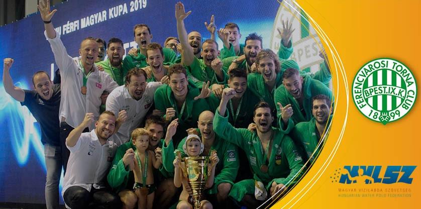 Ferencváros nyert vízilabda Magyar Kupa 2019