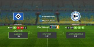 Foci Tippek: Hamburg – Bielefeld 2020. május 24. - Bundesliga 2