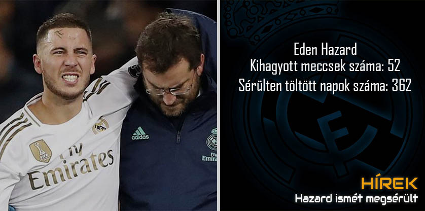 Eden Hazard injured again