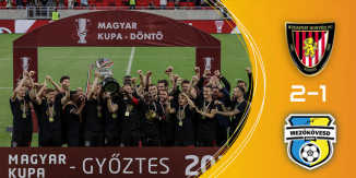 A Budapest Honvéd nyerte a Magyar Kupát