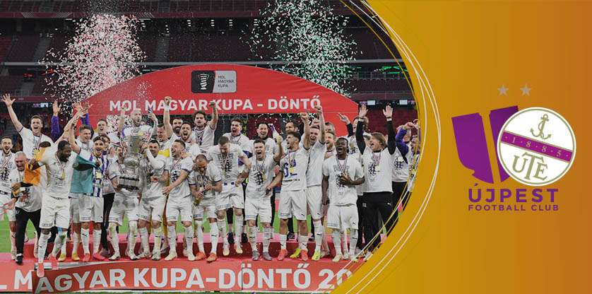 Újpest won Cup Final