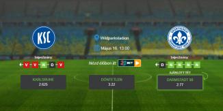 Foci Tippek: Karlsruhe – Darmstadt 2020. május 16. - Bundesliga 2