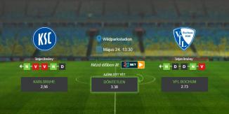 Foci Tippek: Karlsruhe – Vfl Bochum 2020. május 24. - Bundesliga 2