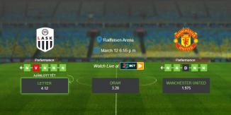 Foci Tippek: LASK Linz vs Man United 2020. március 12. - Európa Liga