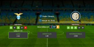 Foci Tippek: Lazio vs Internazionale 2020. február 16. - Serie A