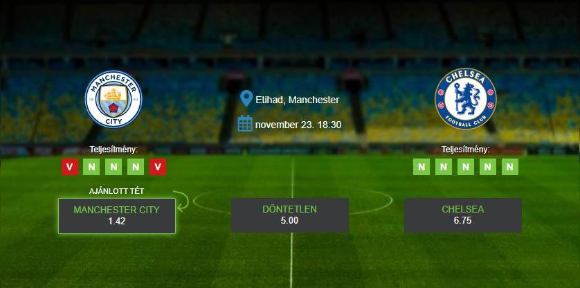 Manchester City-Chelsea - Előzetes és Fogadási Tippek ...