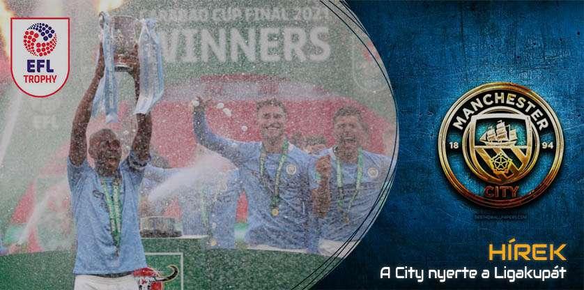 Man City won EFL Trophy