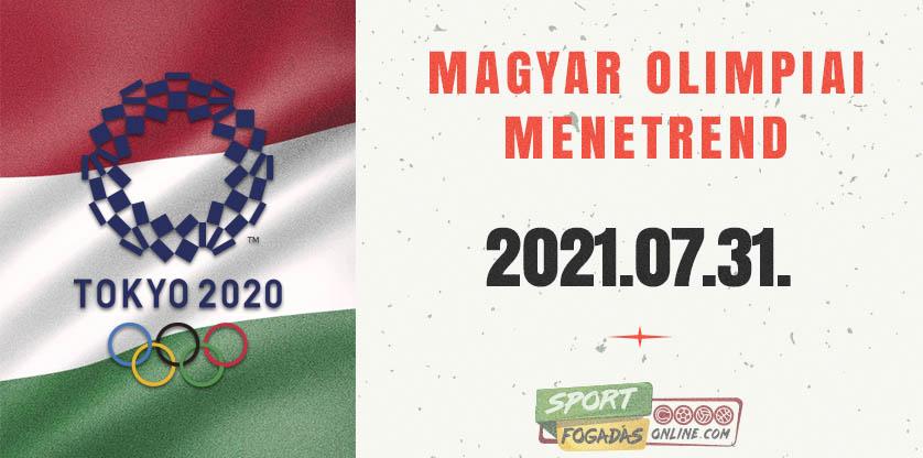 Magyar Olimpiai Menetrend - 07.31.