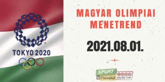 Magyar Olimpiai Menetrend - 08.01.