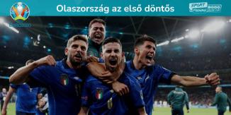 Olaszország az első döntős