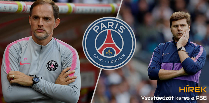 PSG looking for a new coach
