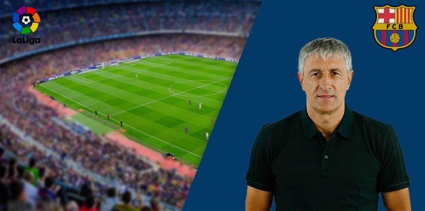 Quique Setién - Barcelona FC 2020
