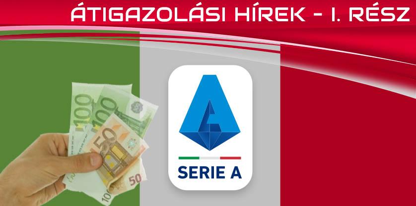 Olasz átigazolási hírek 2020.04. – I. rész