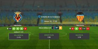 Foci Tippek: Villarreal - Valencia 2020. június 28. - La Liga